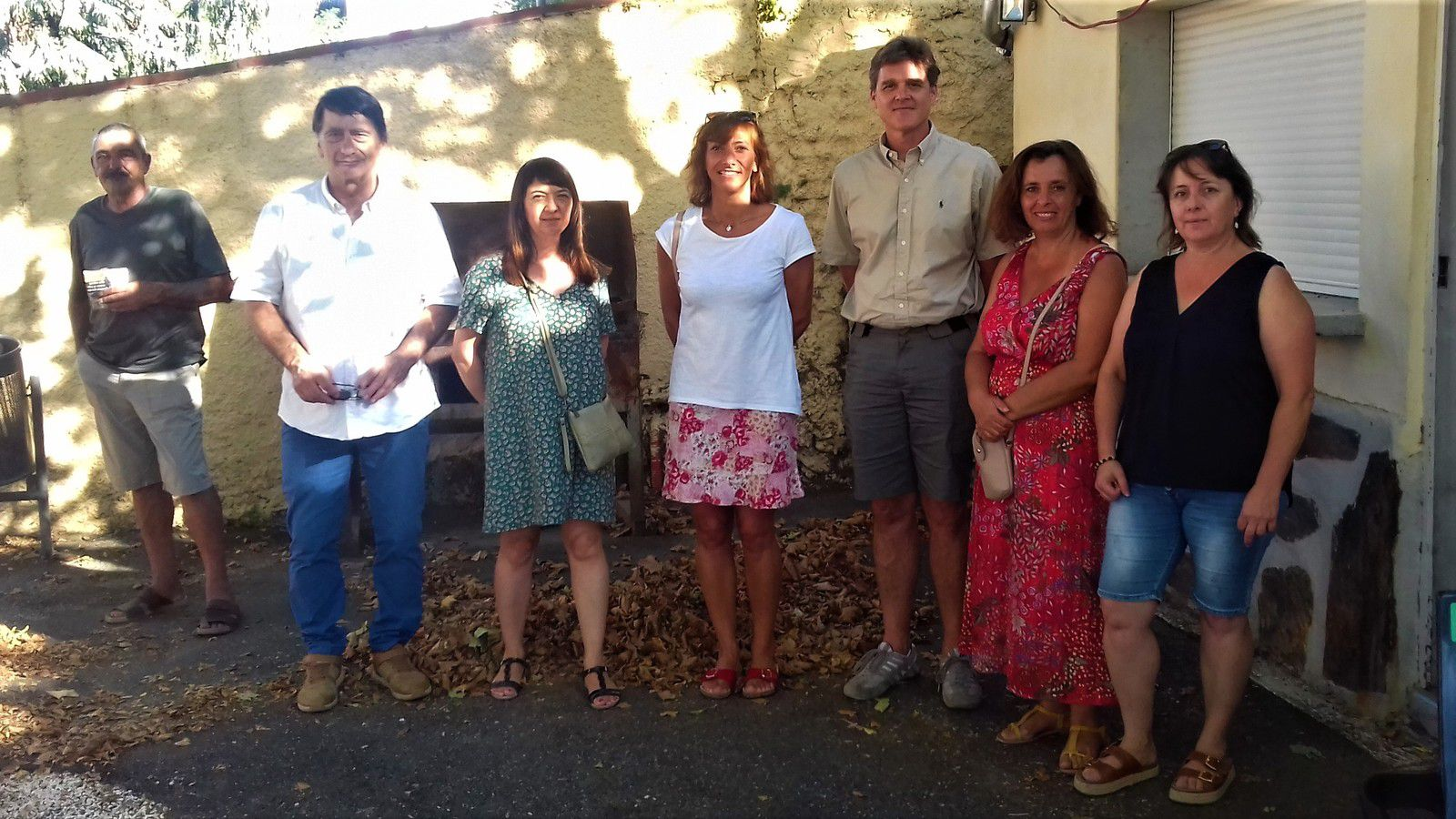 Une partie des élus Daniel Barbaro (maire),  Marie-Anne Martinez, Stéphanie Garrigues, Daniel Crosby, Djamila Lagder, Cécile Burblis.
