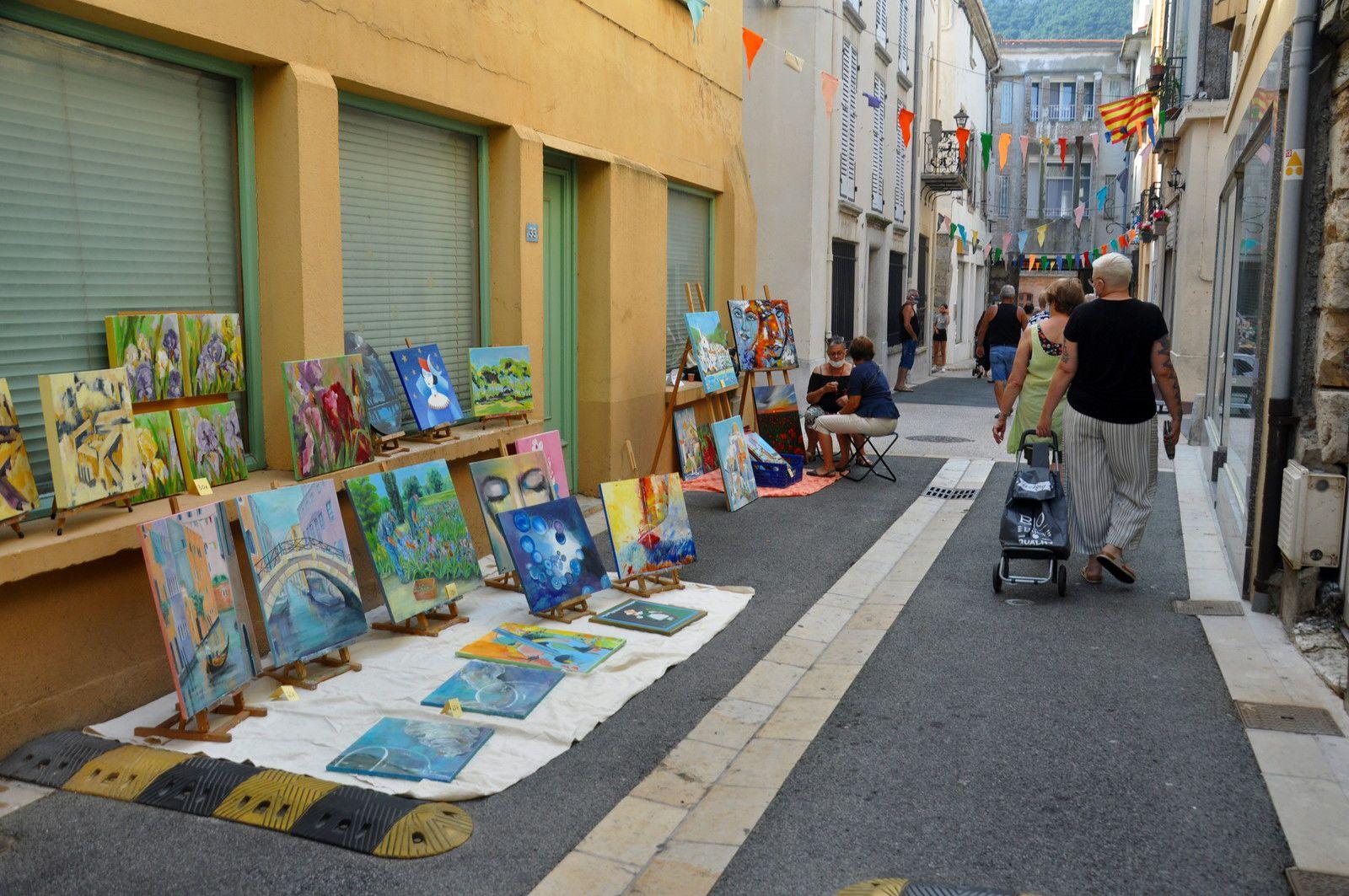 Peinture dans la rue Arago.
