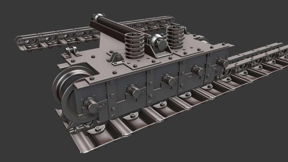 Sturmpanzerwagen A7V - WIP