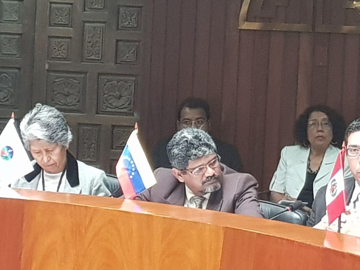 MINISTROS ANDINOS DE SALUD APRUEBAN PLAN ESTRATÉGICO DE INTEGRACIÓN 2018 - 2022 DURANTE XXXI REUNIÓN EXTRAORDINARIA BOLIVIA, COLOMBIA CHILE, ECUADOR, PERU Y VENEZUELA (PRESIDENCIA PROTEMPORE) 15 FEBRERO 2018