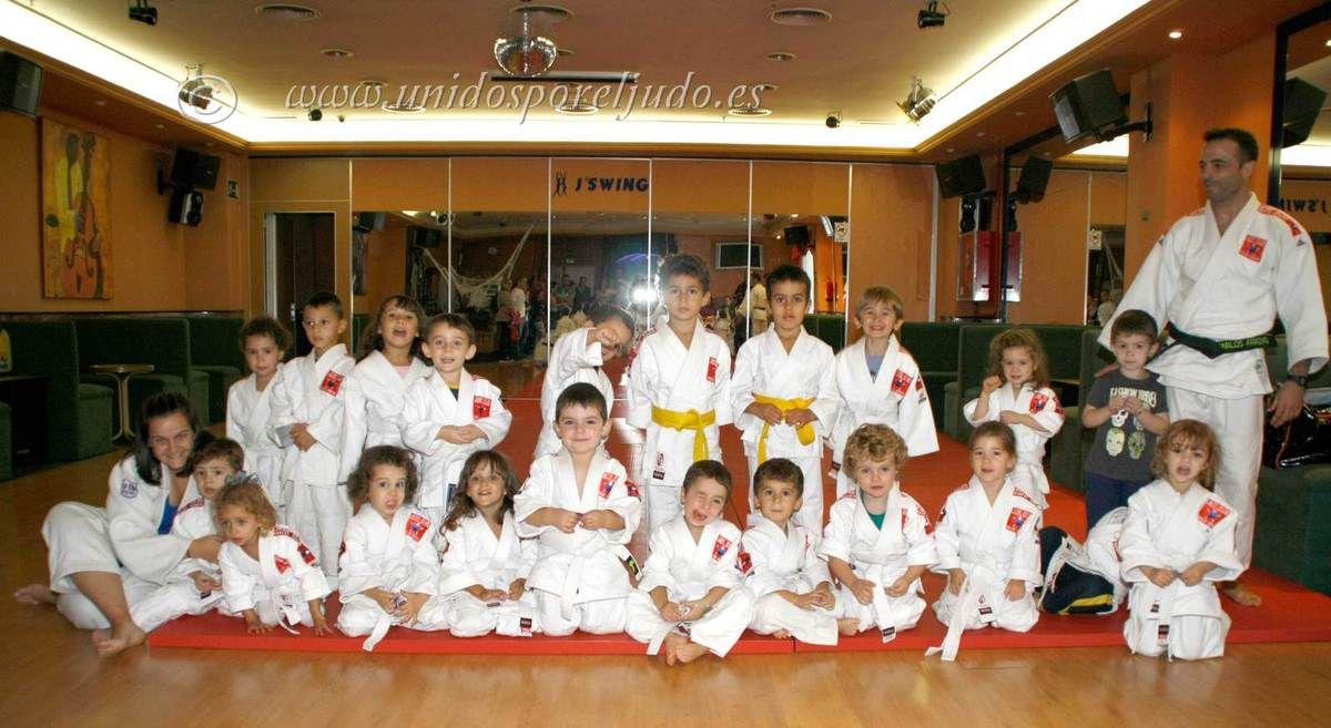 Judokas de LIVE SPORT