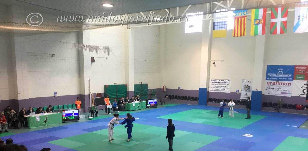 Super Copa España Judo de infantil Villa de Montijo, resultados.