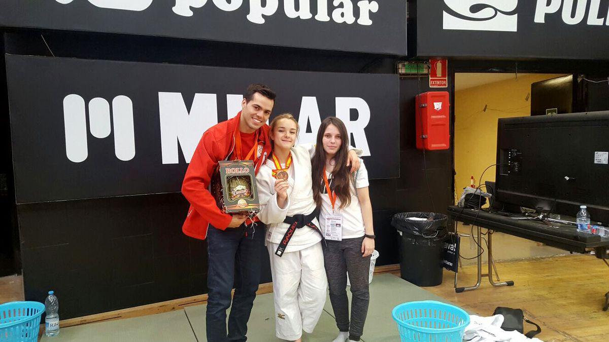 I Campeón y dos Terceros de España en la final de judo de Valencia