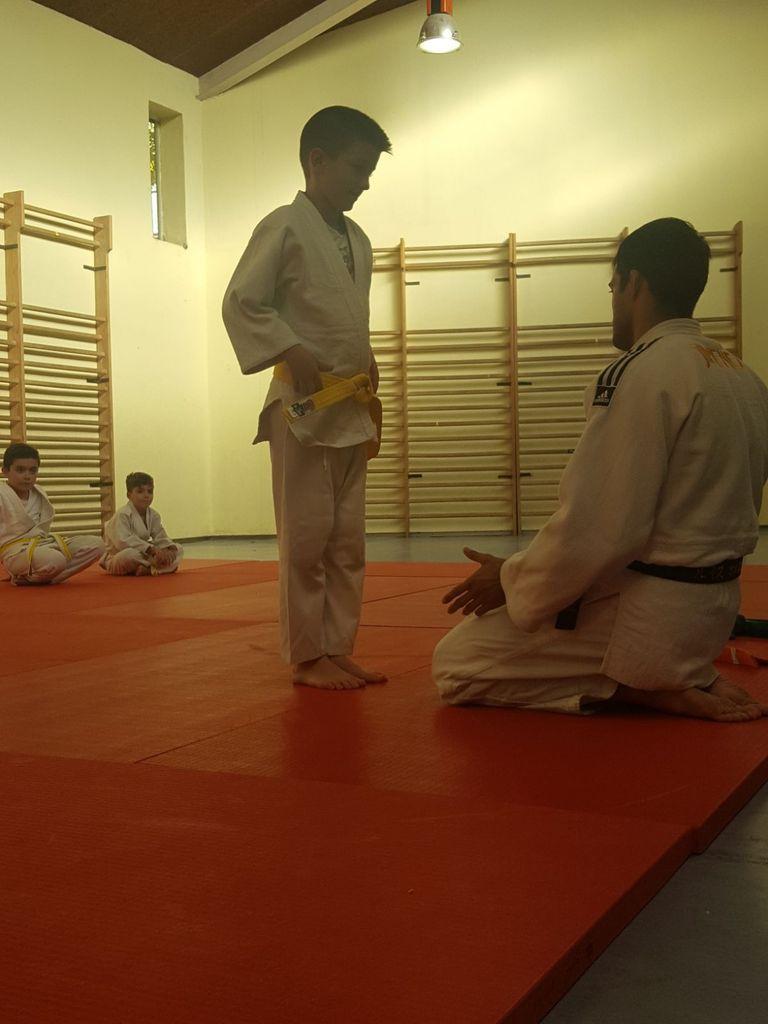 Ceremonia de cinturones del Colegio Ciudad de Roma