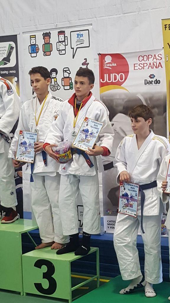 Resultados Super Copa Judo infantil de Montijo