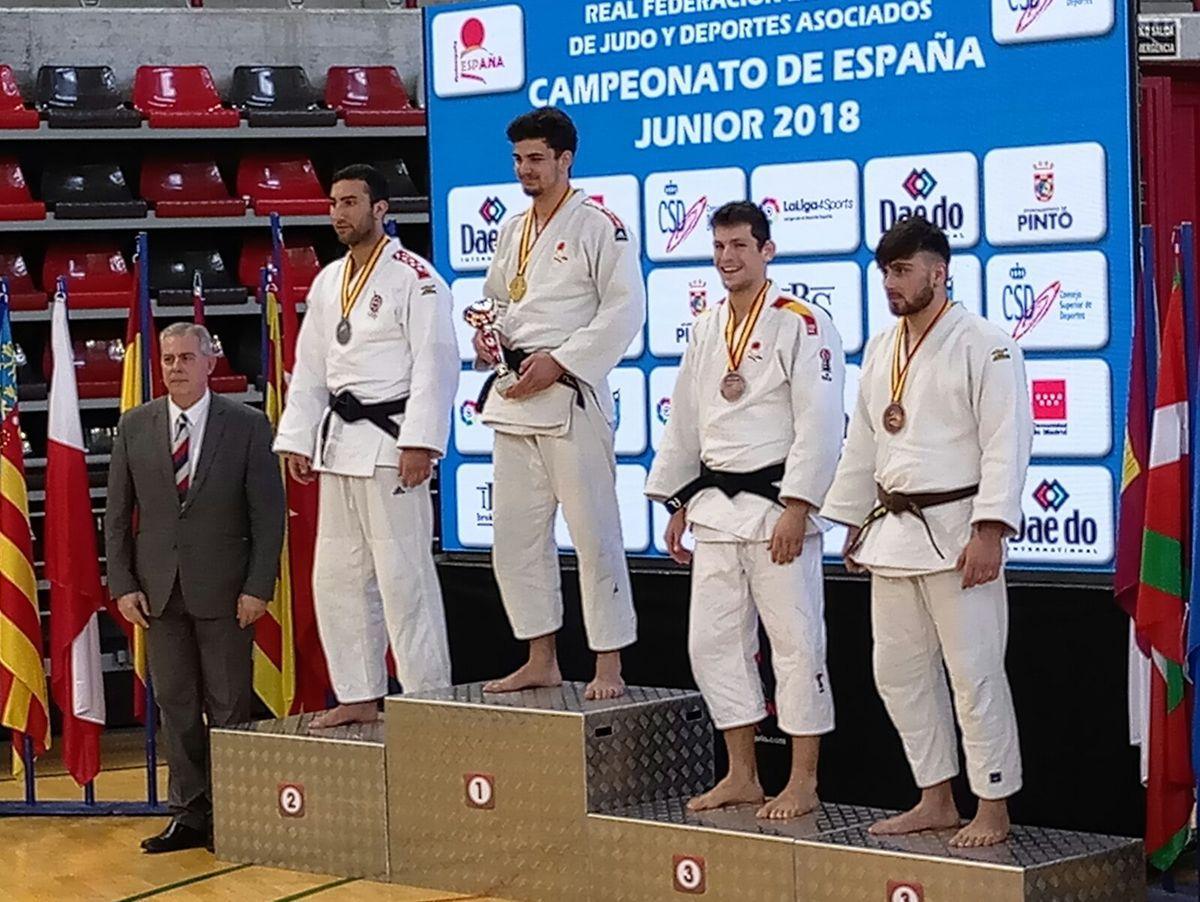 Final campeonato de España junior- resultados