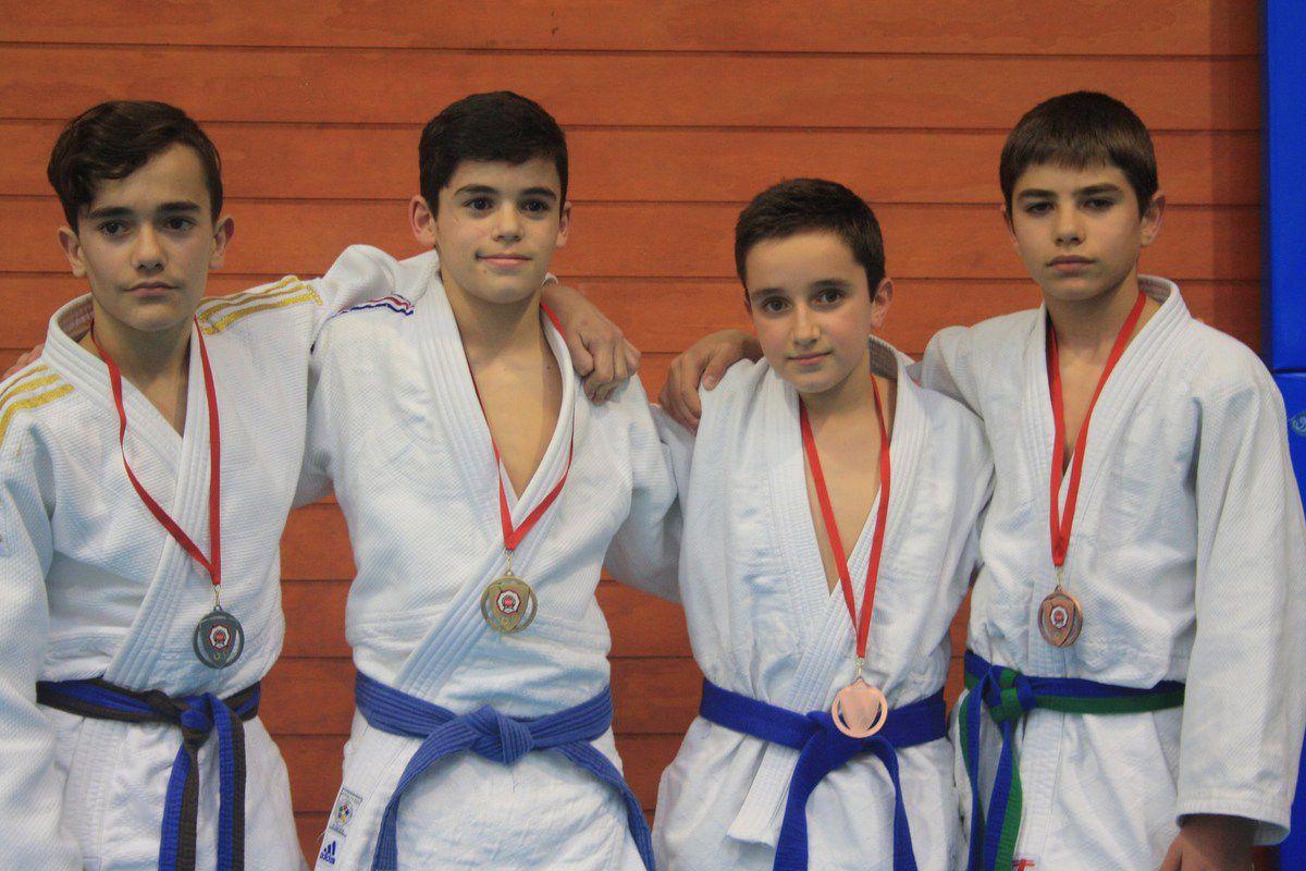 10 oros, 2 platas y 7 bronces en el zonal 4 por parte del JUDO ALCORCÓN CARLOS ARROYO
