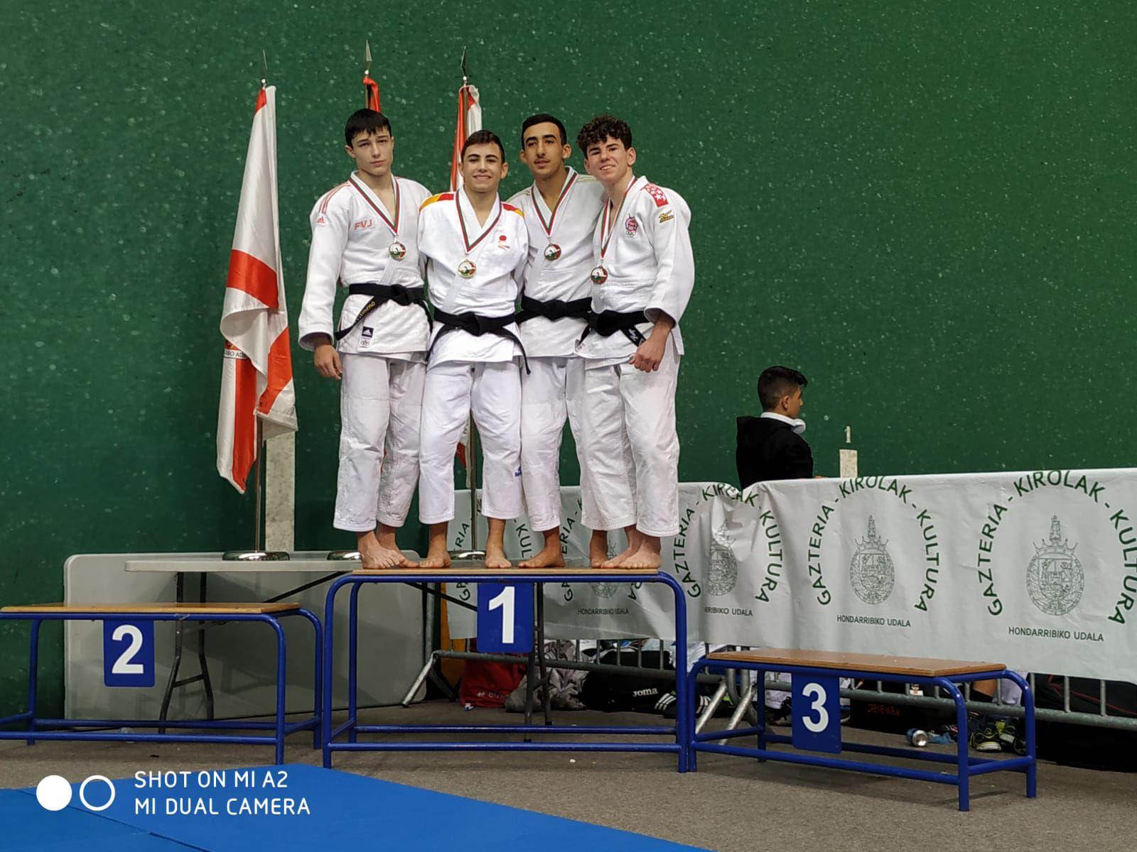 Resultados Copa España Judo Cadete de Hondarribia
