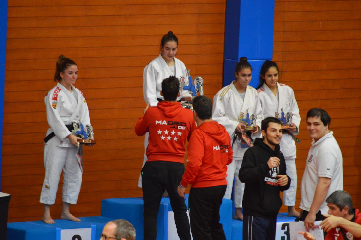 Campeonato de Madrid Judo categoría junior