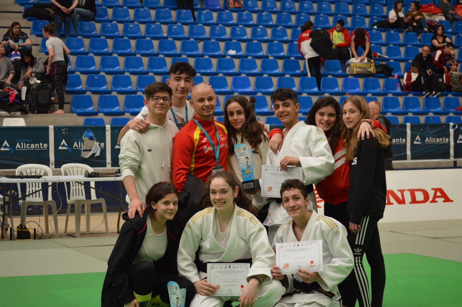 Resultados Copa España infantil y cadete de judo de Alicante