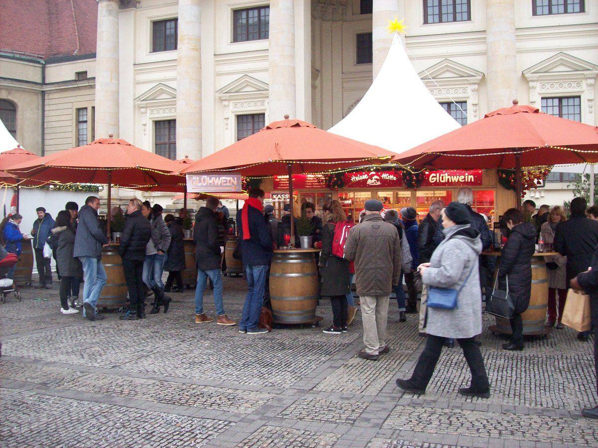 Vorweihnachtliches auf dem Gendarmenmarkt