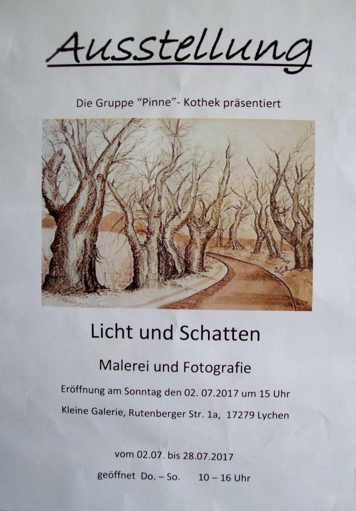 """Ausstellung in der """"Kleinen Galerie"""""""