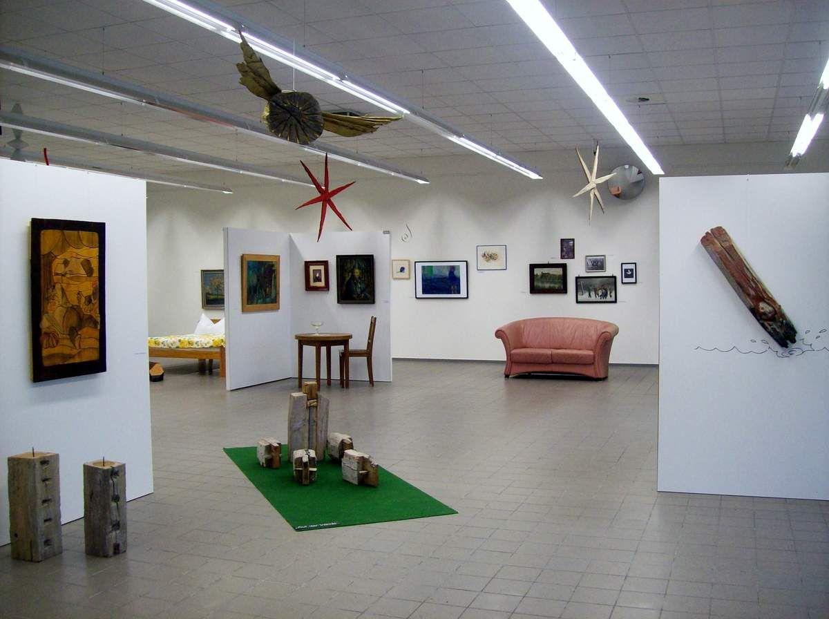 Kunstplatz Lychen  –  neue Attraktion mit abwechslungsreichen Ausstellungen
