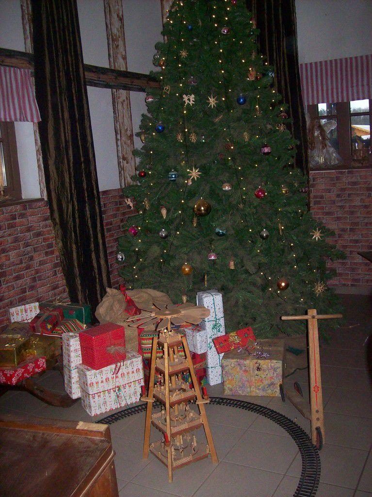 Auf dem Weihnachtsmarkt in Himmelpfort