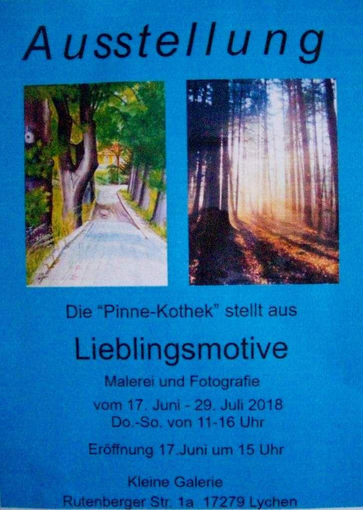 Neue Ausstellung in der Kleinen Galerie