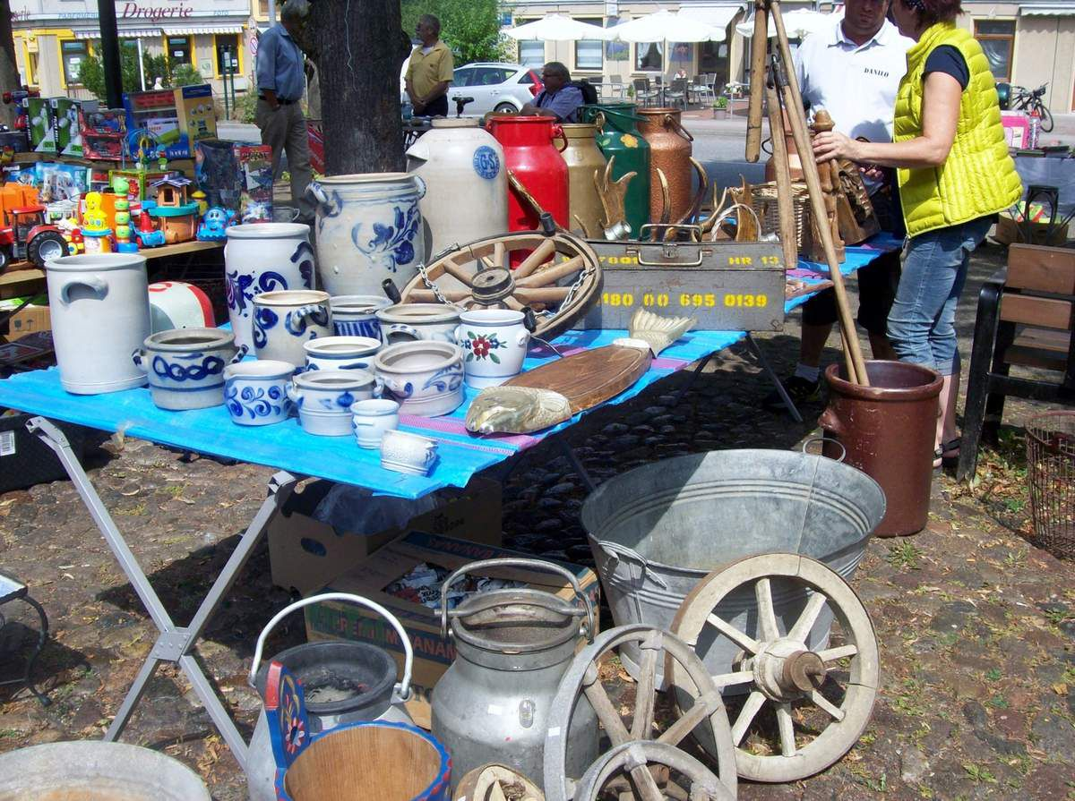 1. Lychener Regional- und Flohmarkt