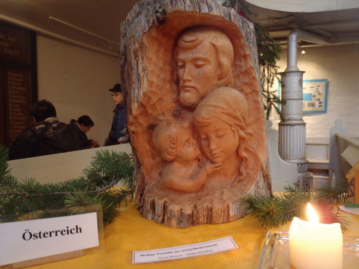 Weihnachtskrippen in der St.-Marienkirche