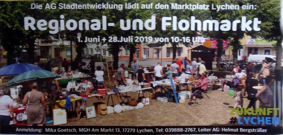 Auf zum Flohmarkt nach Lychen!