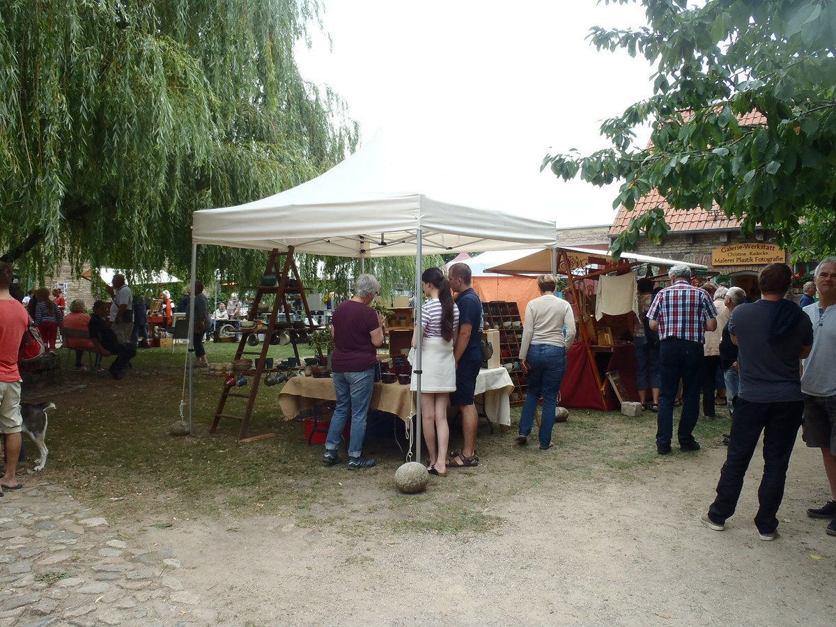 Kunsthandwerkermarkt in Thomsdorf