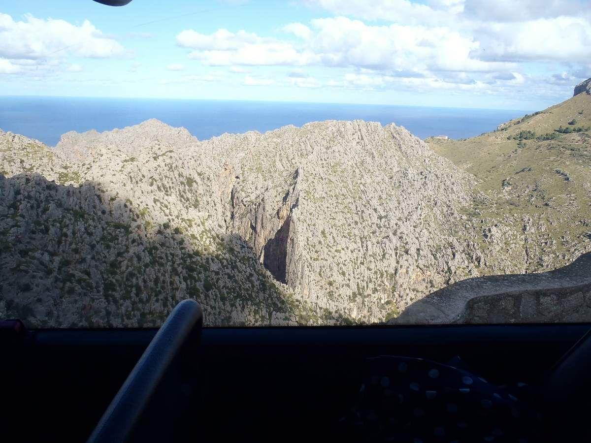 Durch die Sierra de Tramuntana nach Sa Calobra