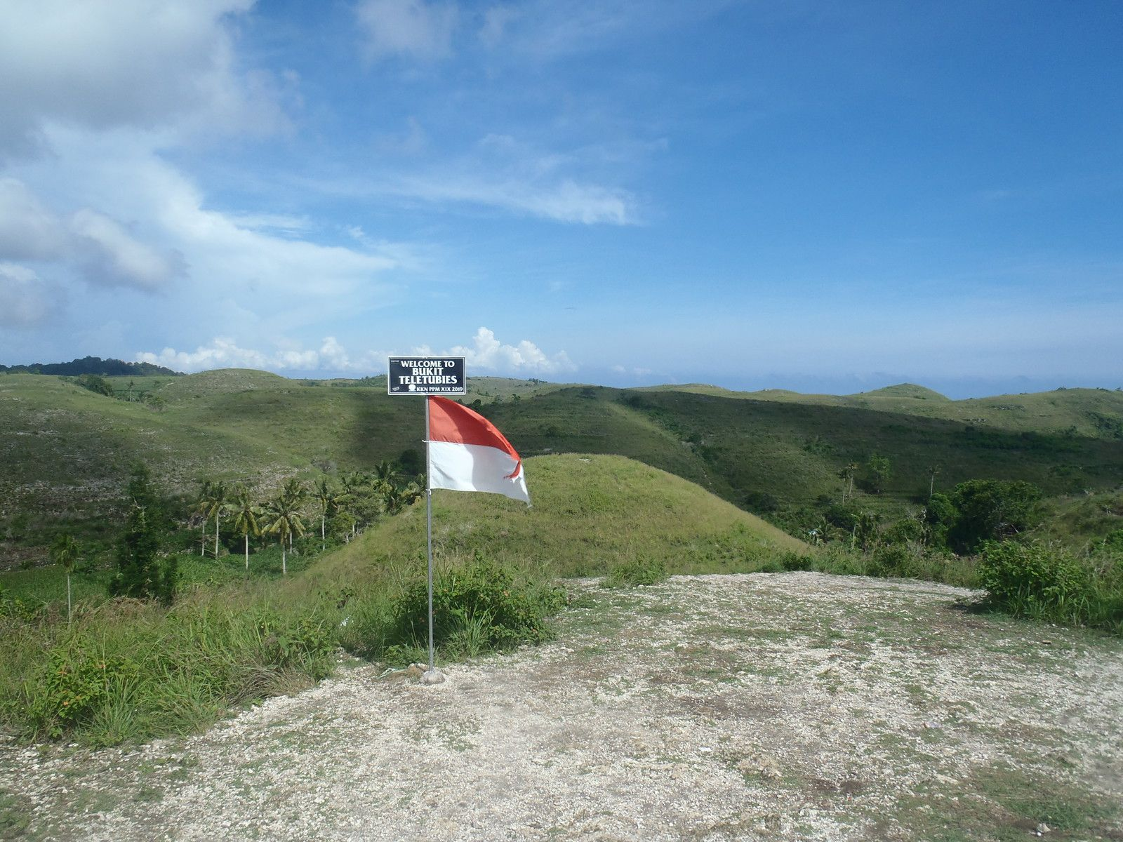 Die Teletubbies-Hügel auf Nusa Penida
