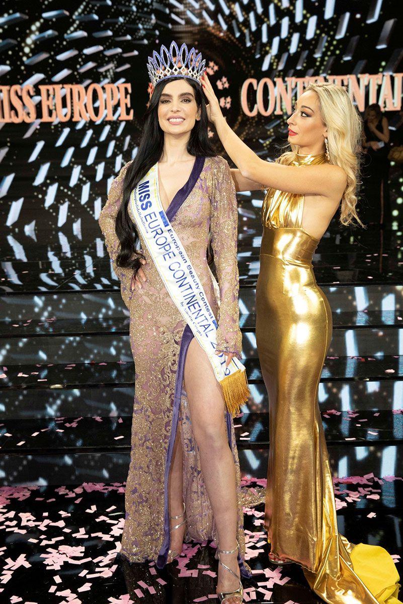 SARA ISABELLA (Miss Europe 2019), LE CHARME PERSE....