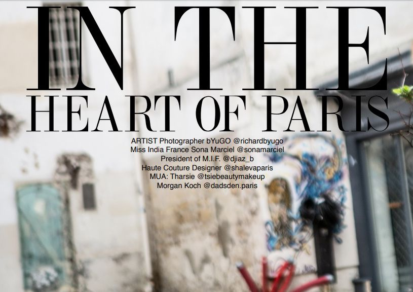 IN THE HEART OF PARIS (edito SOLIS MAGAZINE)