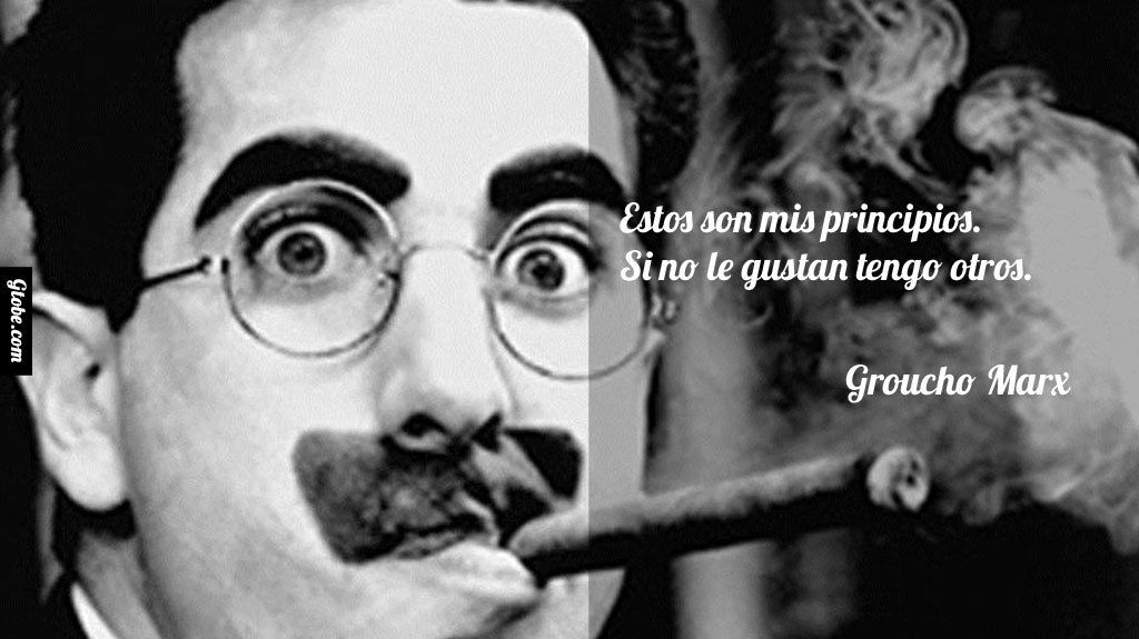 Marxismo de Groucho, no de Karl.