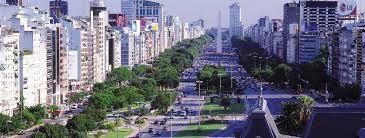 Izqda Buenos Aires, avenida 9 de Julio -Drcha Malecón de La Habana