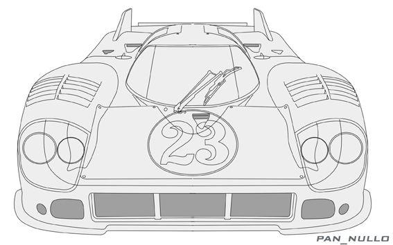 Porsche 917 (evo) 1971