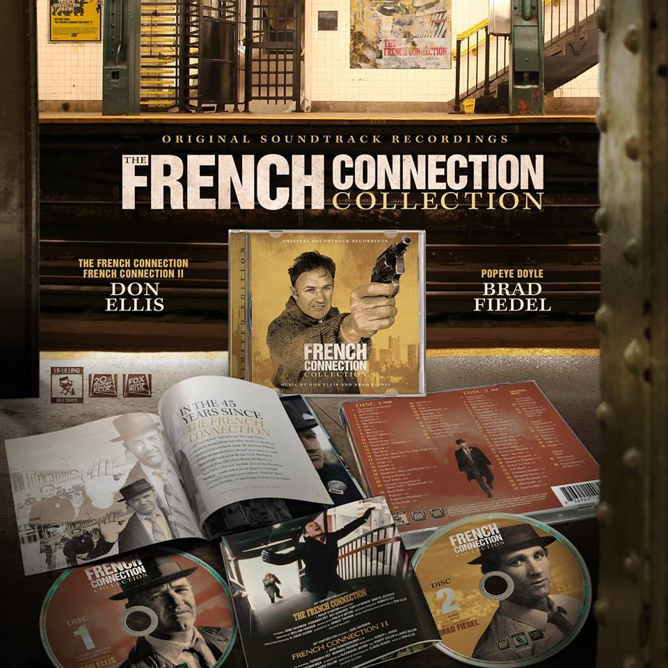 The French Connection - Die Filmmusik von Don Ellis veröffentlicht von La-La Land Records