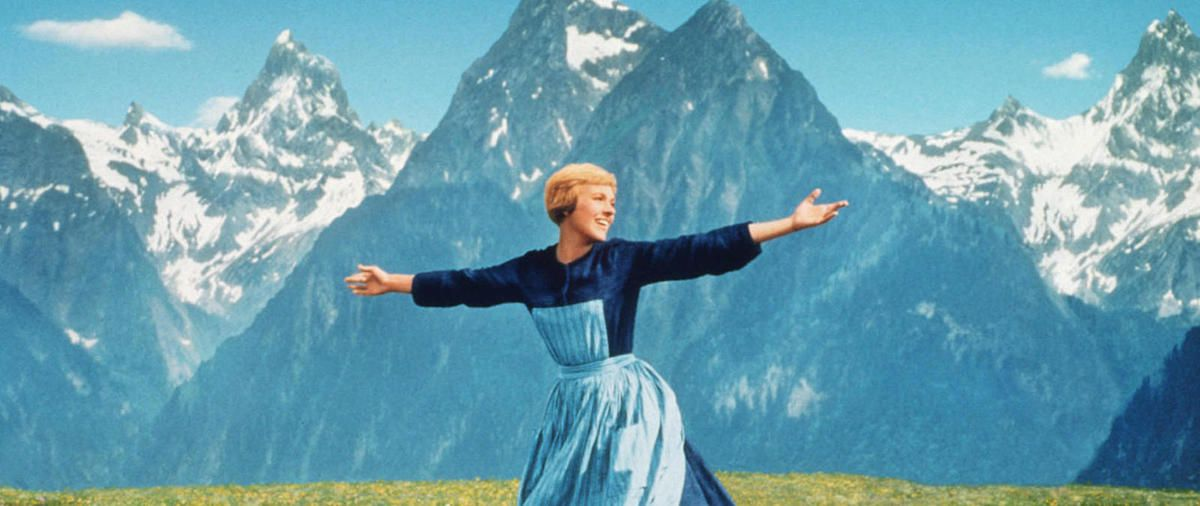 Picture from The Sound Of Music - Maria On The Hill