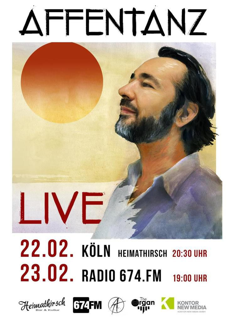AFFENTANZ LIVE - musikabend feat. Alan Lomax 674.fm