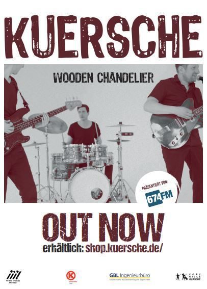 KUERSCHE - Neues Album - WOODEN CHANDELIER