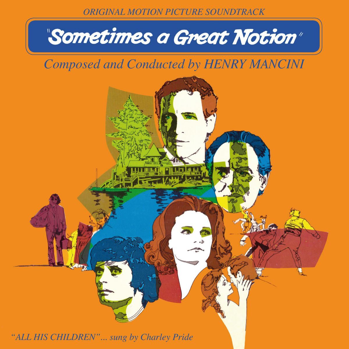 Sometimes A Great Notion - Henry Mancini