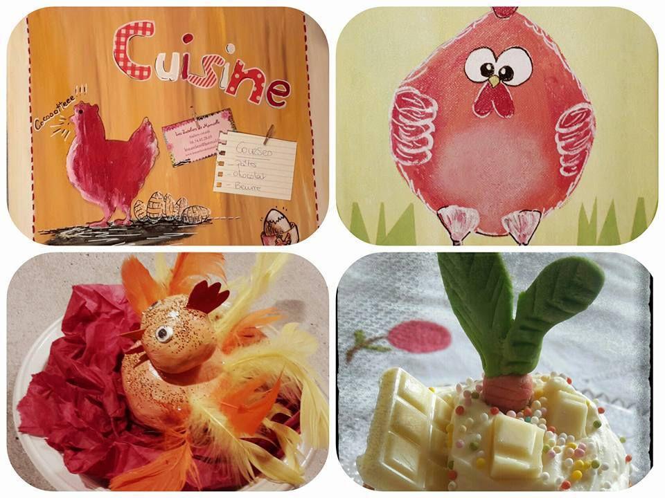 Atelier créatif de printemps, ateliers de pâques et anniversaires créatifs