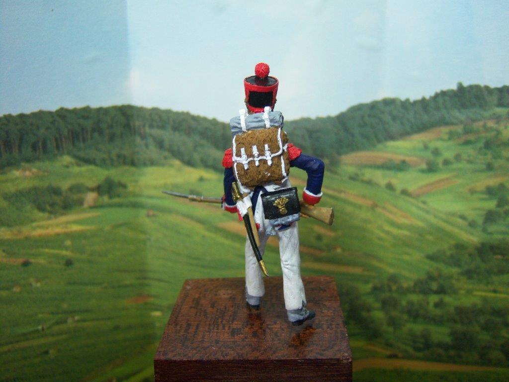 Nouvelle figurine de Monsieur Jacques Mathieu. Le grenadier d'infanterie de ligne. Merci pour votre participation et bravo pour votre réalisation.