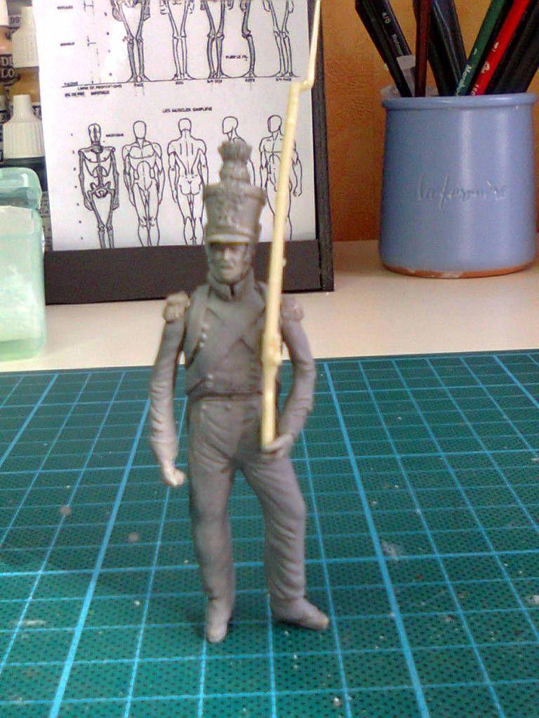 1815024 Caporal du 1er régiment des Tirailleurs de la Jeune Garde à Plancenoit.