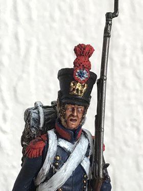 Caporal des tirailleurs grenadiers de la jeune Garde.