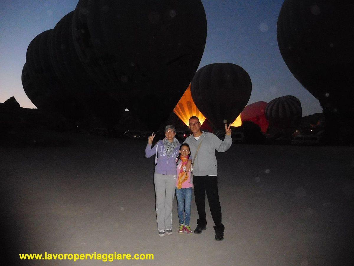 Volo in mongolfiera nei cieli della Cappadocia