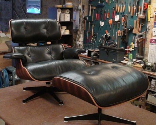 Restauration d'un Eames, encore !