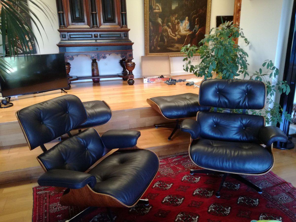 Atelier Hafner - spécialiste restauration fauteuils Eames