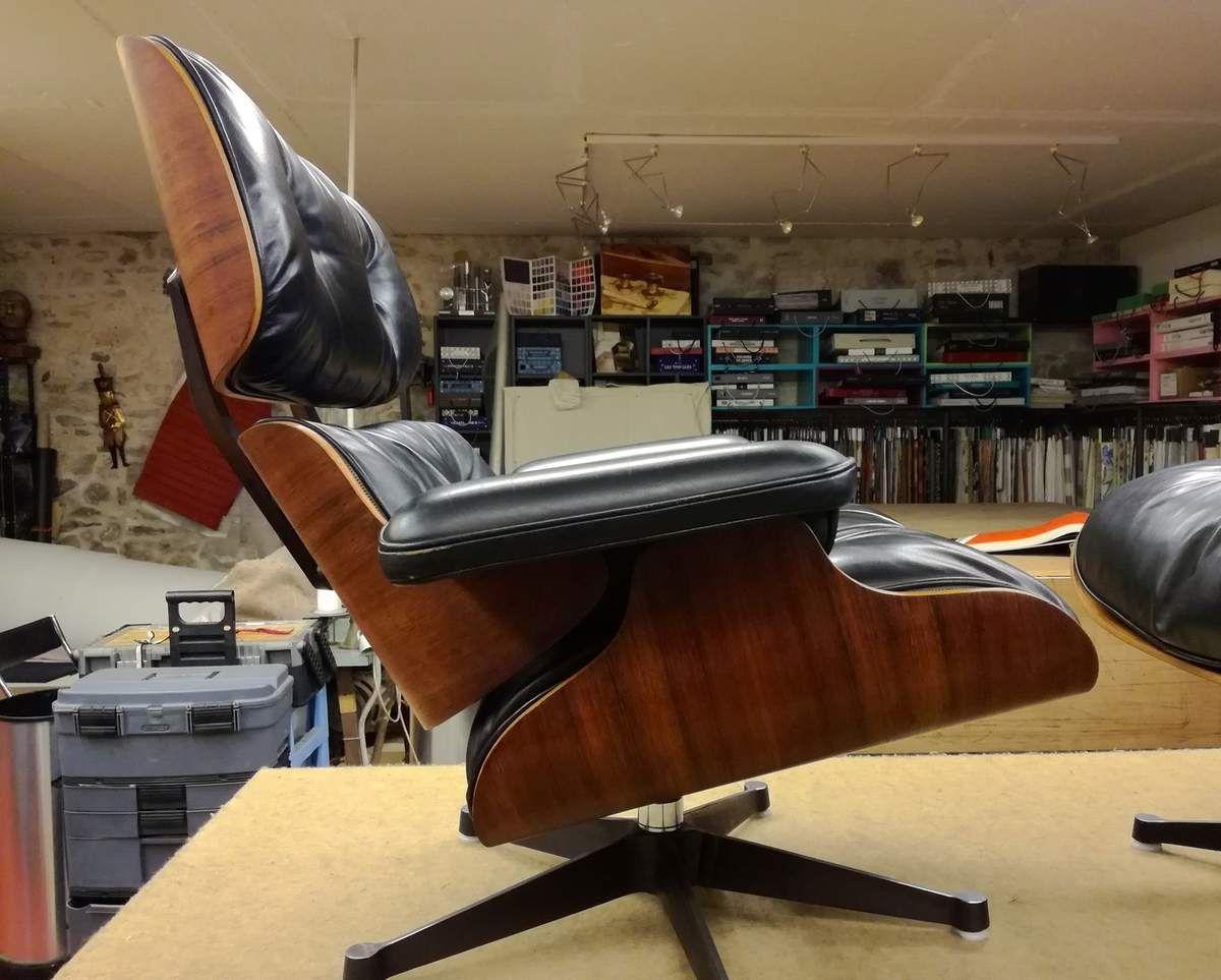 Nantes fauteuil Eames recoloré