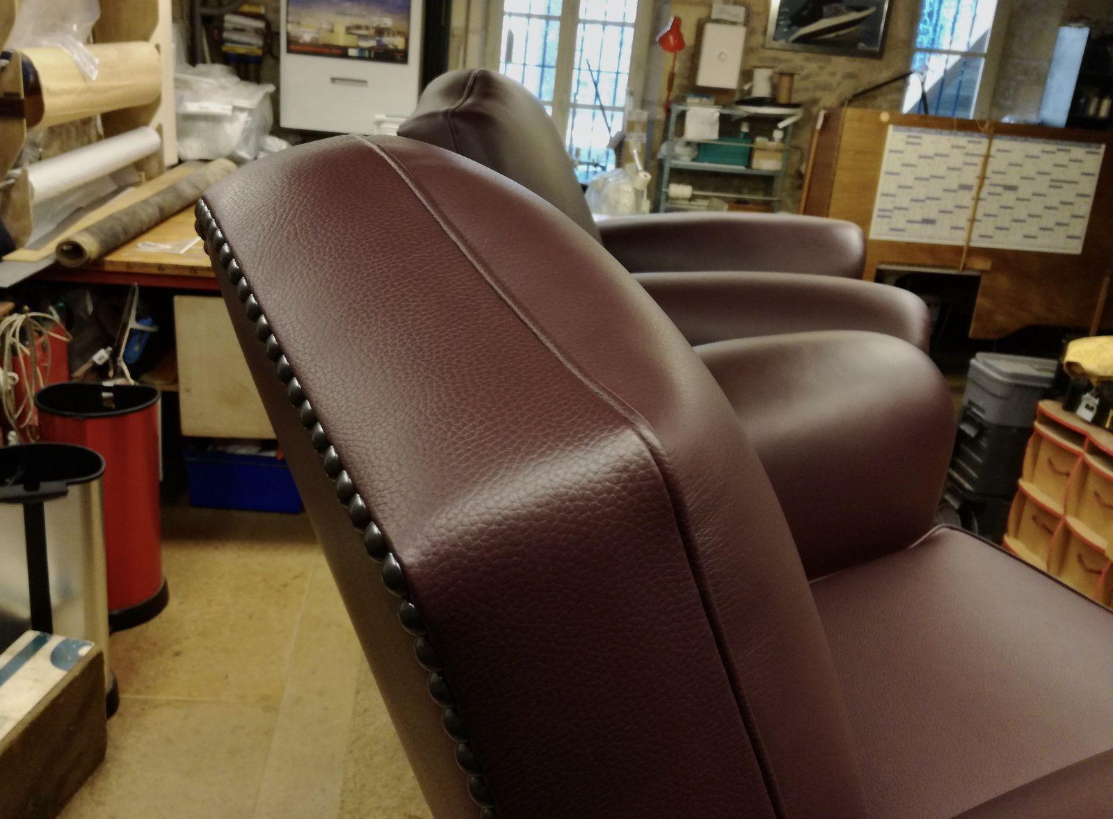 sellier réparateur fauteuil club
