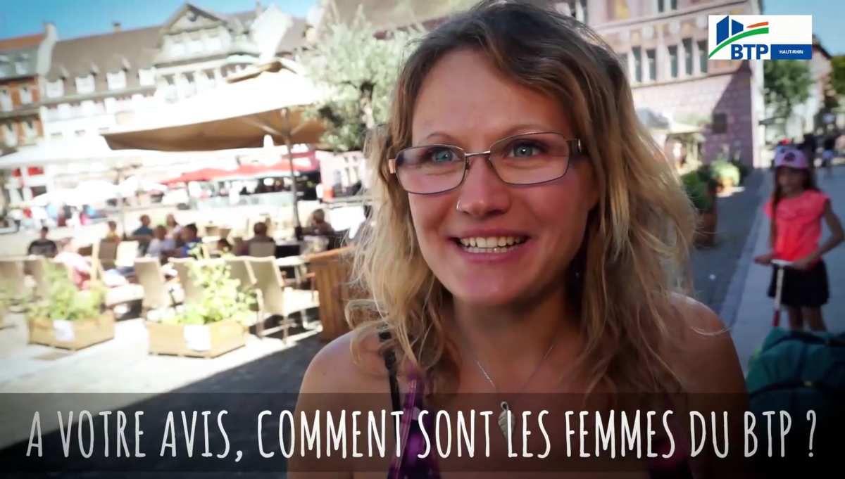 Votre avis sur les femmes qui travaillent dans le BTP ? -> Micro-trottoir à Mulhouse [FFB68]