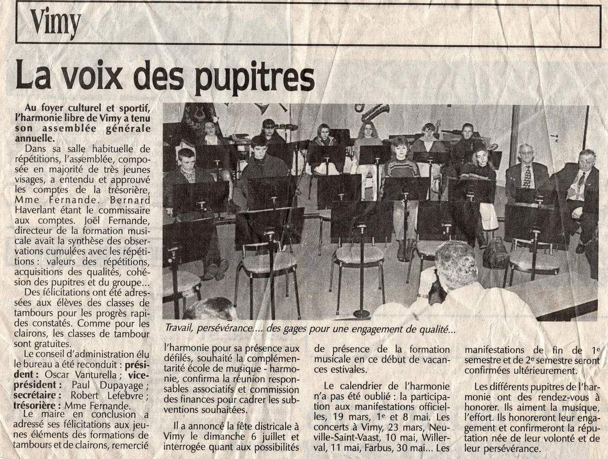 1997 . ASSEMBLEE GENERALE ...