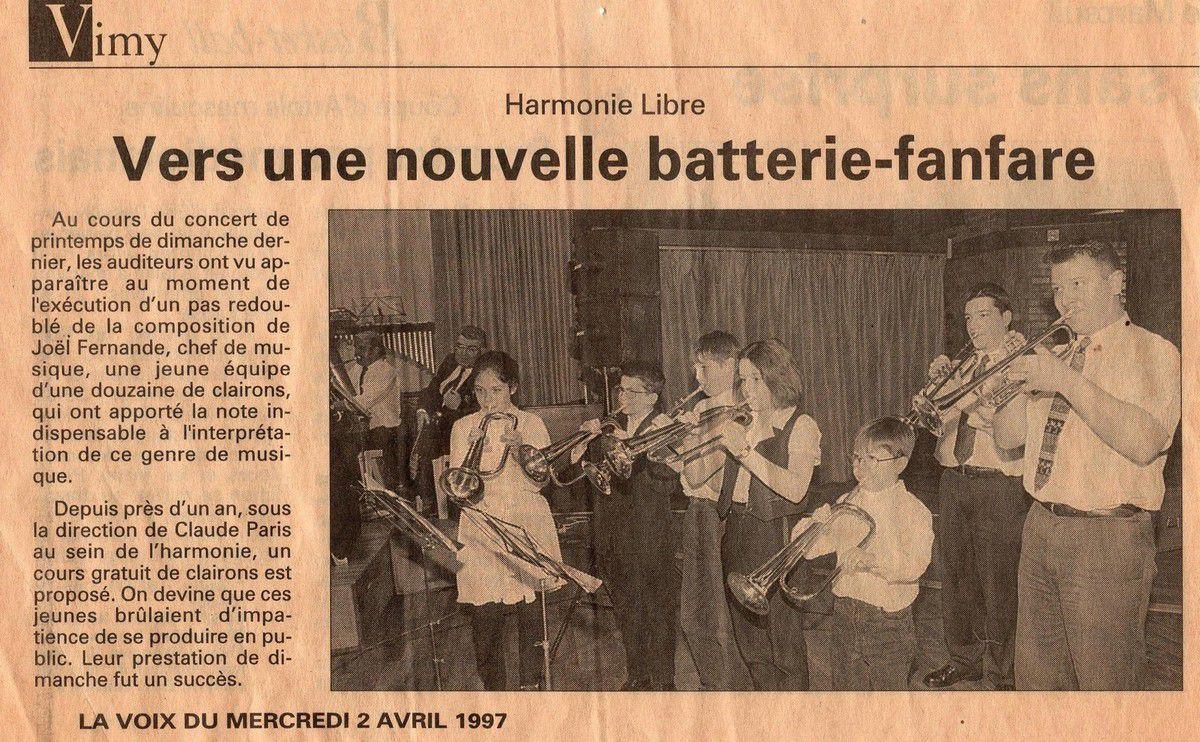 1997 . LES CLAIRONS ...