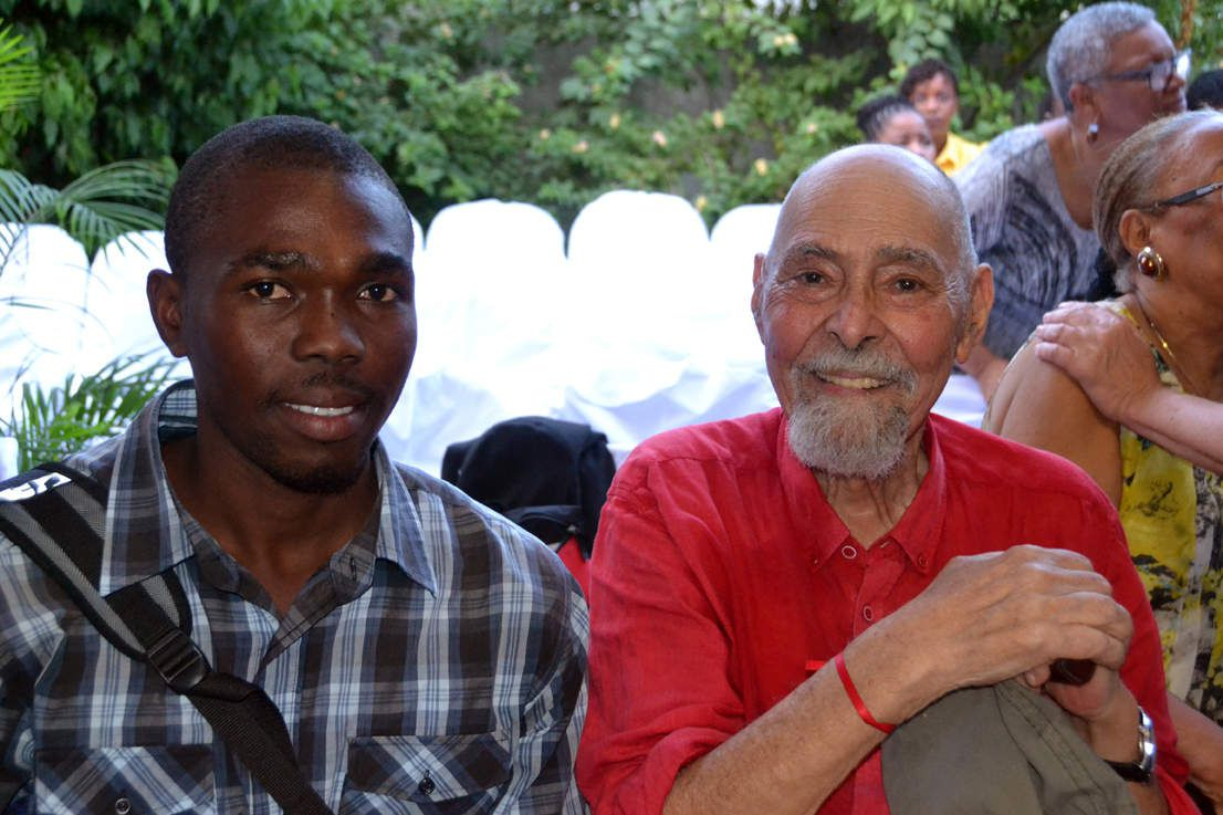 PHOTOS DE GERALD BLONCOURT  - ACCUEIL EN HAITI - NOV 2016