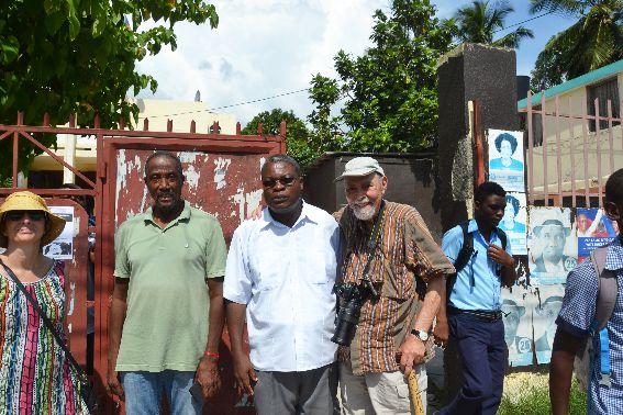 PHOTOS RENCONTRE A L'INSTITUT FRANCAIS EN HAITI