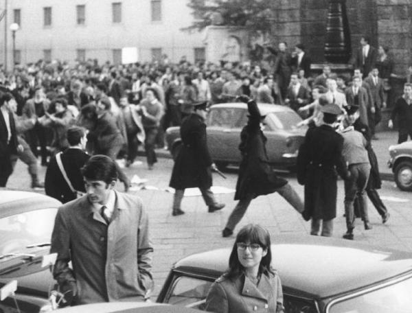 Ricordi del 68: gli scontri di Largo Gemelli (25 marzo 1968)